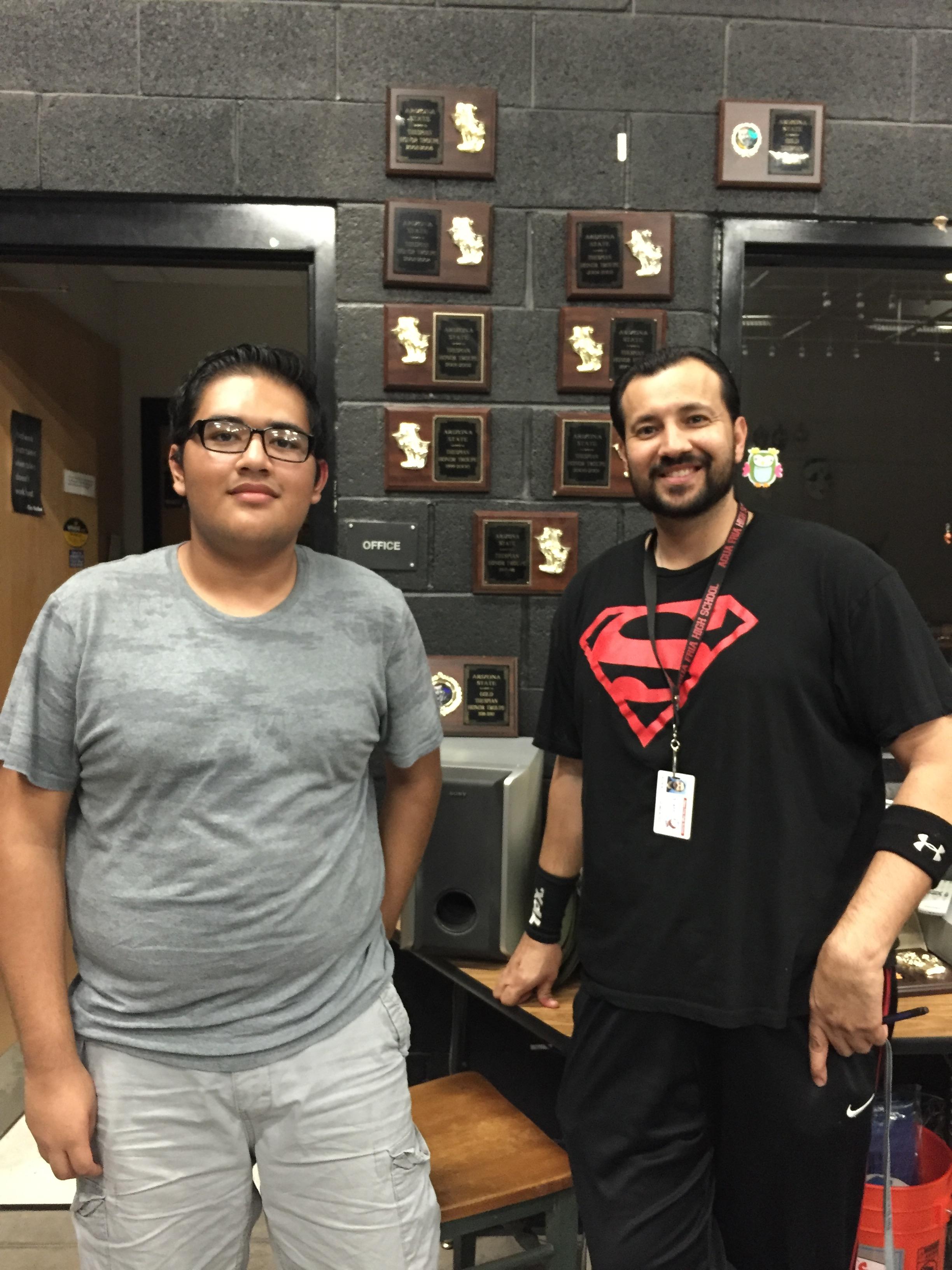 Alan AgundezCastillo and Mr. Gonzalez