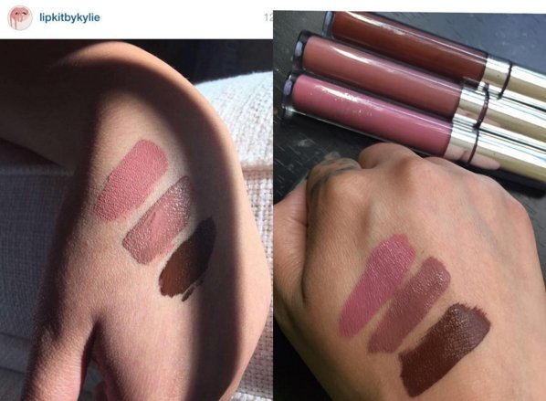 swatches-comparing-sold-out-lip-kits-colourpop-shades