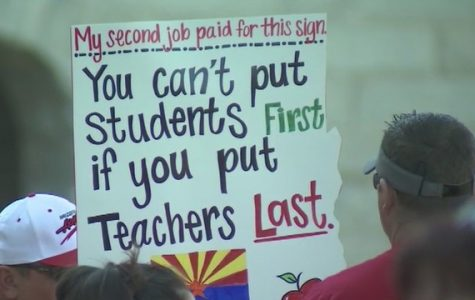 Teachers Demand Higher Pay in Red for Ed March