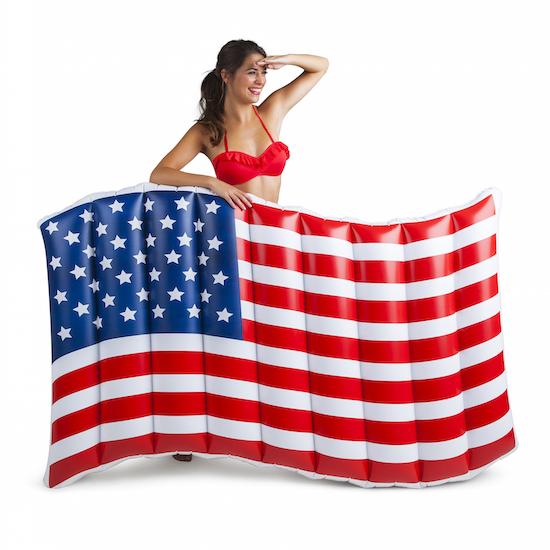 flag float