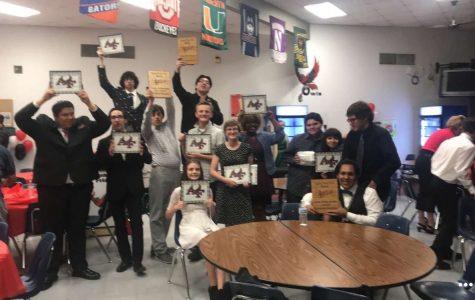 Agua Fria Band of Owls Banquet Recognization
