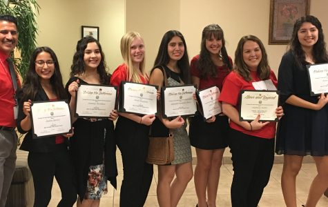 Student Council Gets Recognized By District Office