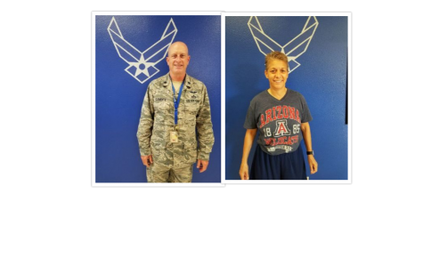 Chief and Colonel Inspire Future Leaders in JROTC