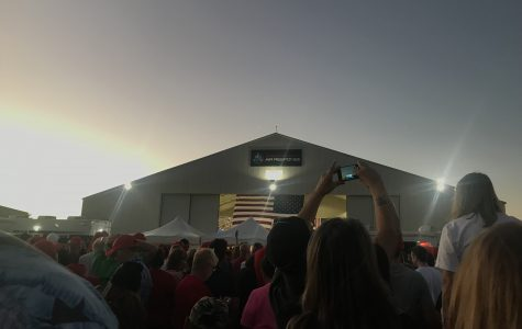 Sights and Sounds from Trump's Rally in Mesa