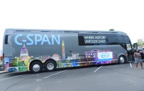 The C-SPAN Bus Comes to AFHS!