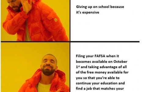 Seniors, Apply For FAFSA Now!