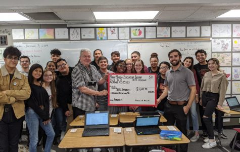 Beloved Sub Mr. Murillo Gives Back to AFHS Students